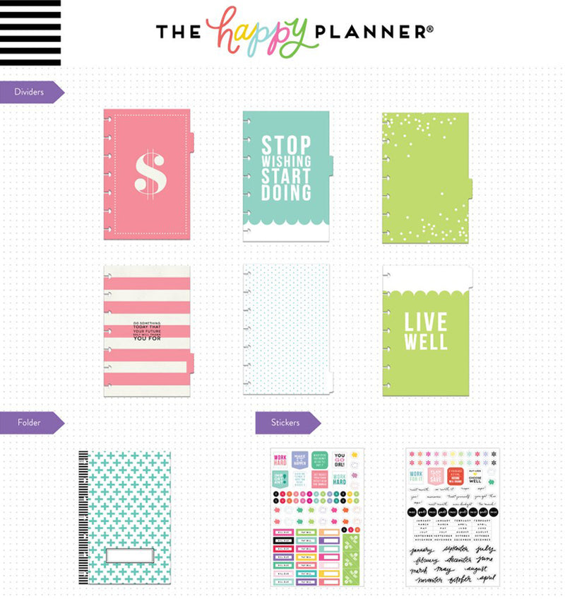 Budget Expansion Pack (Mini Happy Planner) Dividers and Pages