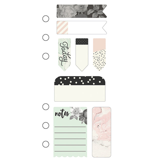 Carpe Diem Beautiful Mini Sticky Notes for Personal Planner Designs