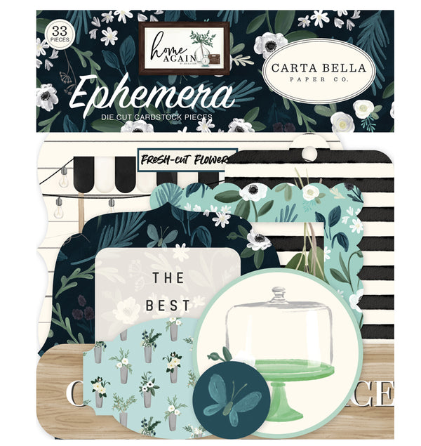 Home Again Ephemera 33pcs