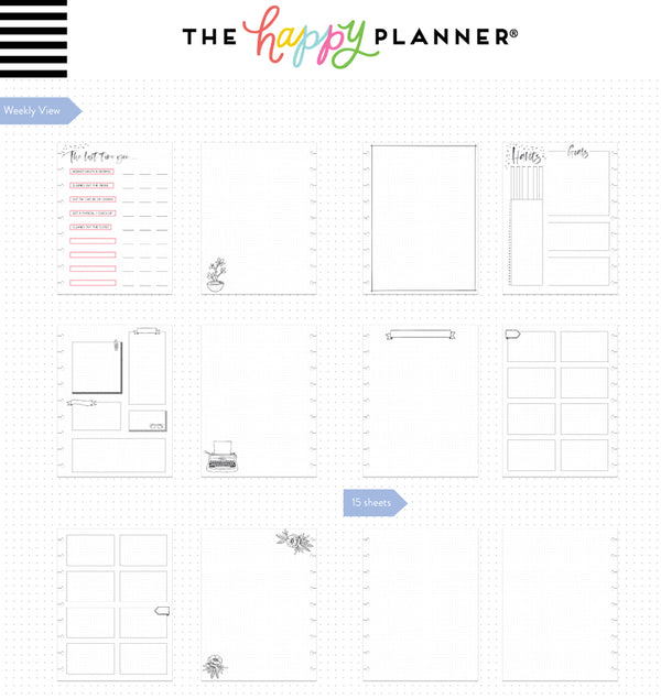 Shine Bright Classic Happy Notes™ Journal (Dot Grid) Page Layouts