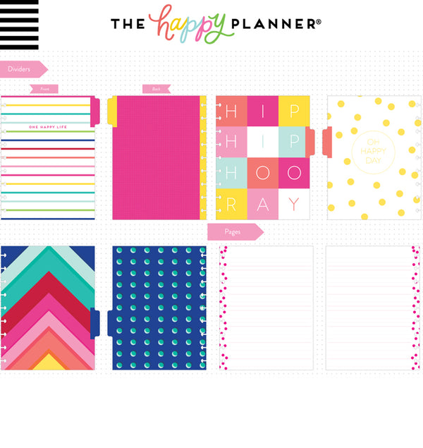 Life Is A Party Classic Happy Notes™ (Lined) Dividers and Pages