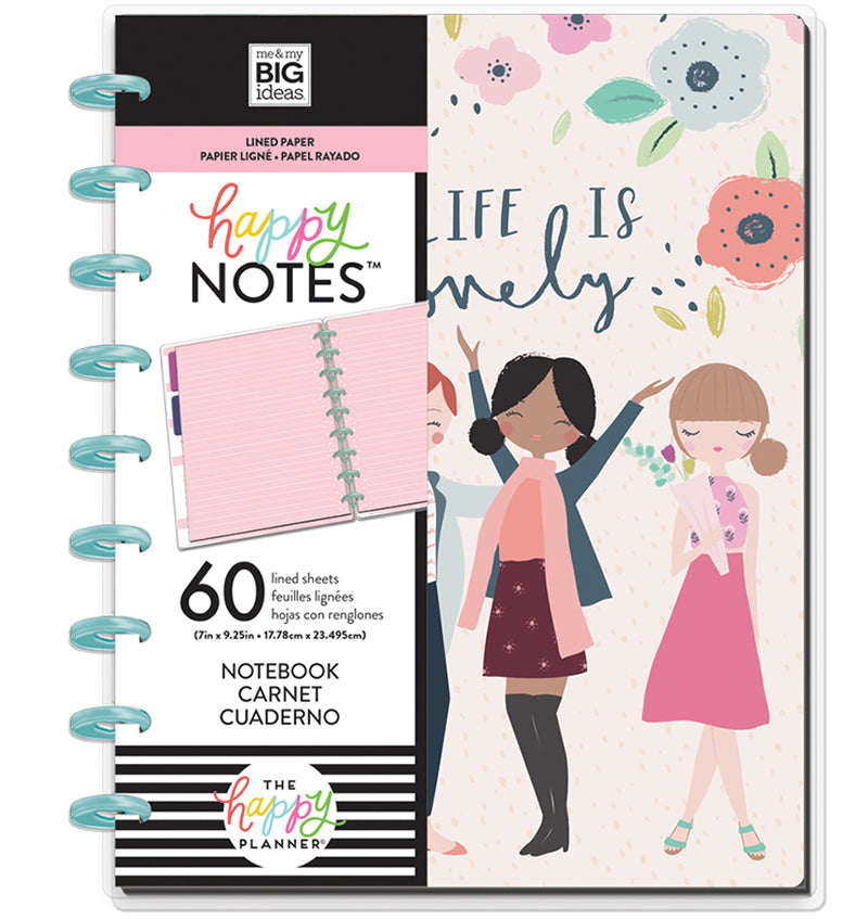 Squad Life Classic Happy Notes™ (Lined) Cover with Tab