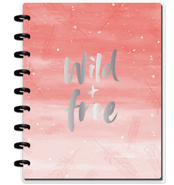 Wild & Free Classic Happy Notes™ (Dot Grid) Cover