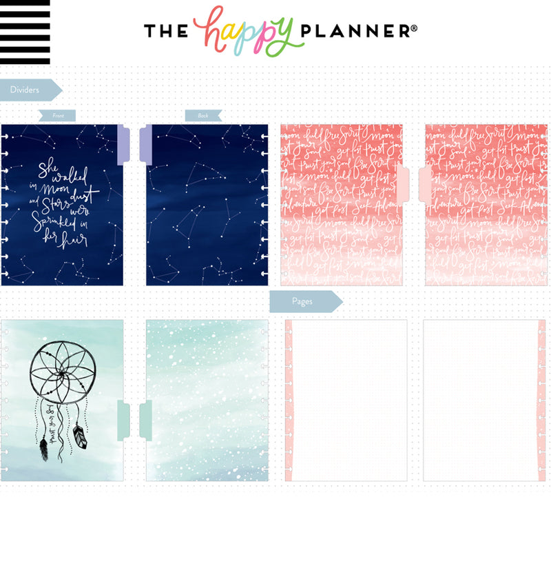 Wild & Free Classic Happy Notes™ (Dot Grid) Dividers