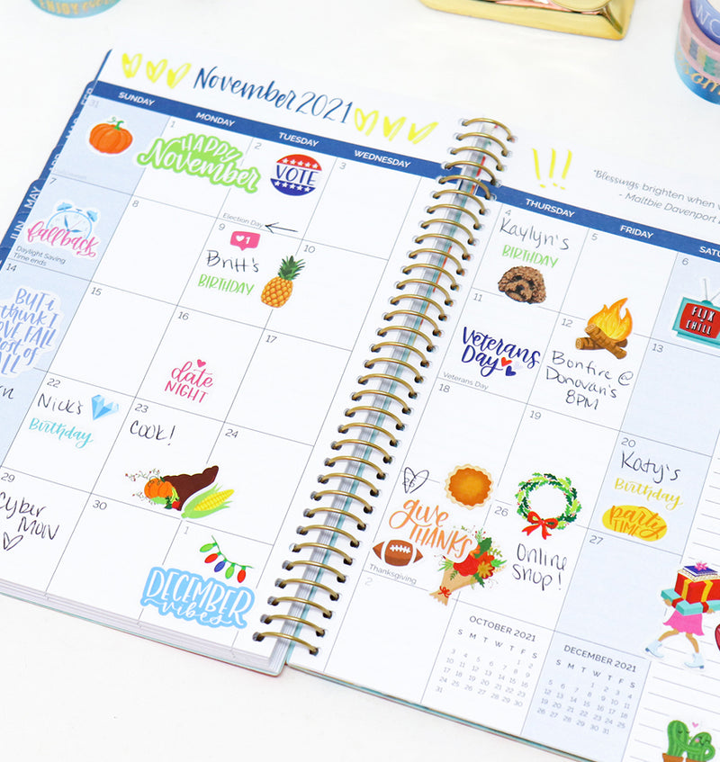 Collect Happy Days 2021 Soft Cover Daily Planner