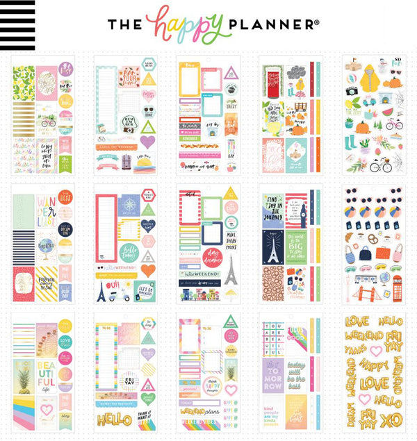Color Story Planner Sticker Pack (497pcs)