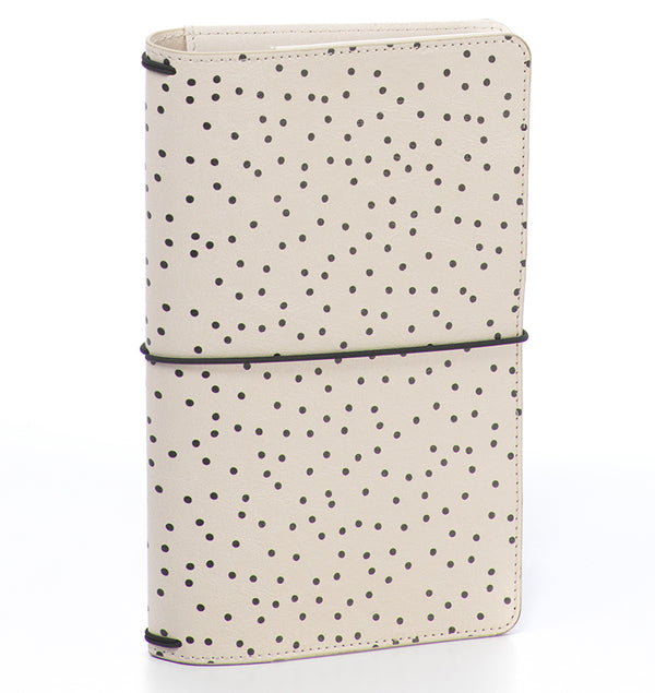 Carpe Diem Cream Dot Traveller's Notebook