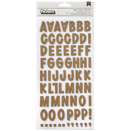 American Crafts Dazzle Cork Chipboard Thickers Front