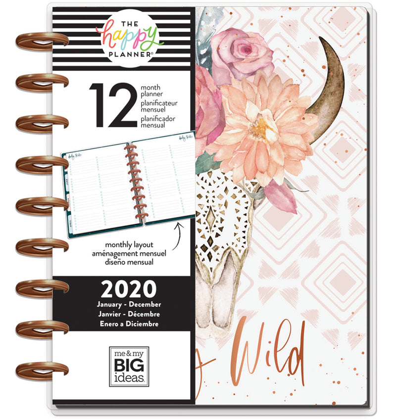 Dream Seeker 2020 Classic Medium Happy Planner