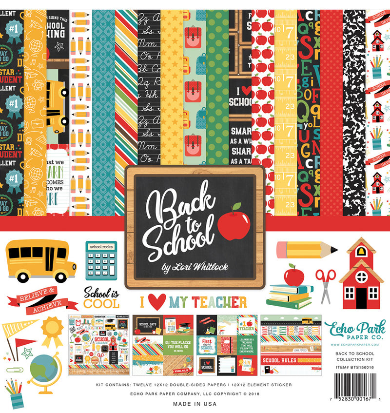 Back To School Collection Kit