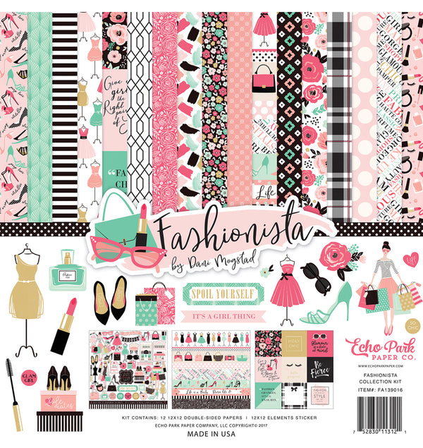 Echo Park Paper Fashionista Collection Kit Cover