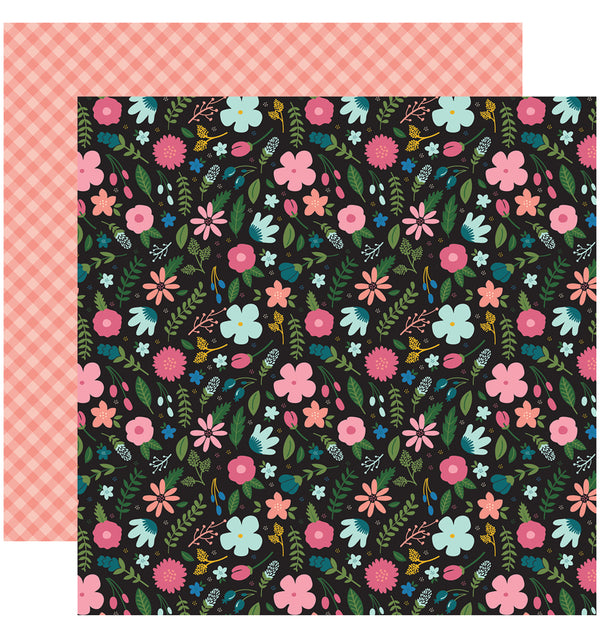 "Echo Park Paper Have Faith 6"" x 6"" Paper Pad Faith Floral Design"