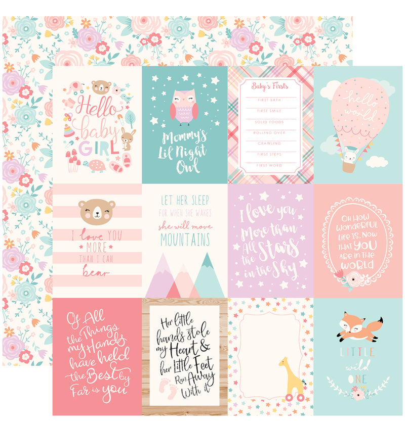 Hello Baby Girl Collection Kit