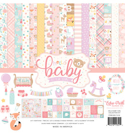 Echo Park Hello Baby Girl Collection Kit