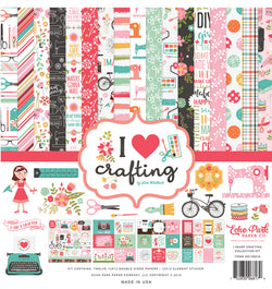 Echo Park I Heart Crafting Collection Kit