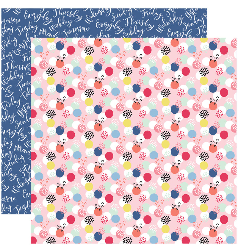 Echo Park I am Mom Collection Kit, Mom Boss 12x12 Paper