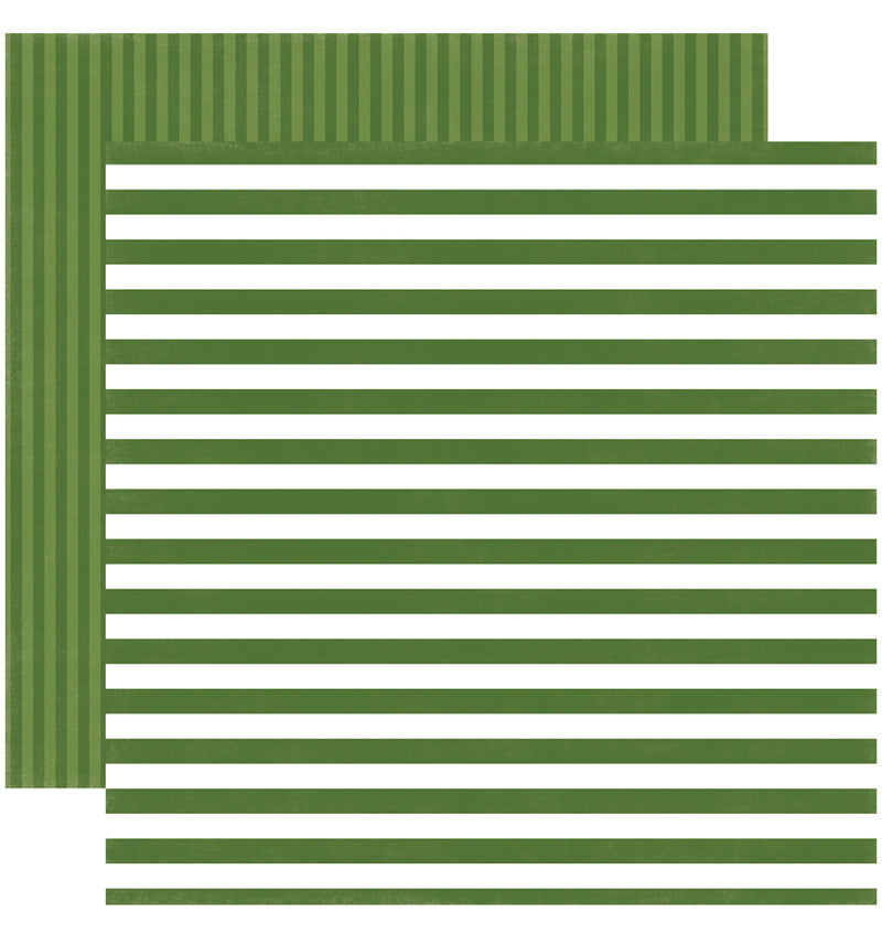 Echo Park Paper Little Boy Dots and Stripes 6 x 6 Paper Pad, Crocodile Stripes Double-Sided Paper Design