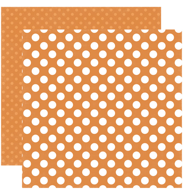 Echo Park Paper Little Boy Dots and Stripes 6 x 6 Paper Pad, Sunshine Dot Double-Sided Paper Design