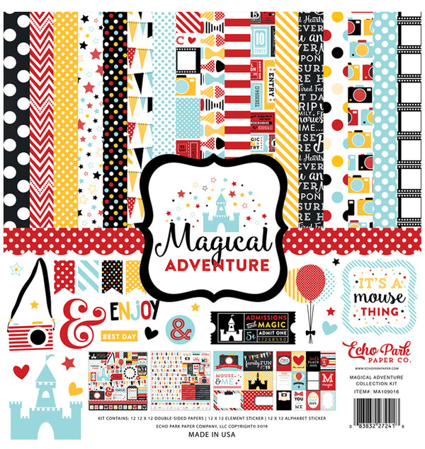Echo Park Paper Magical Adventure Collection Kit Cover