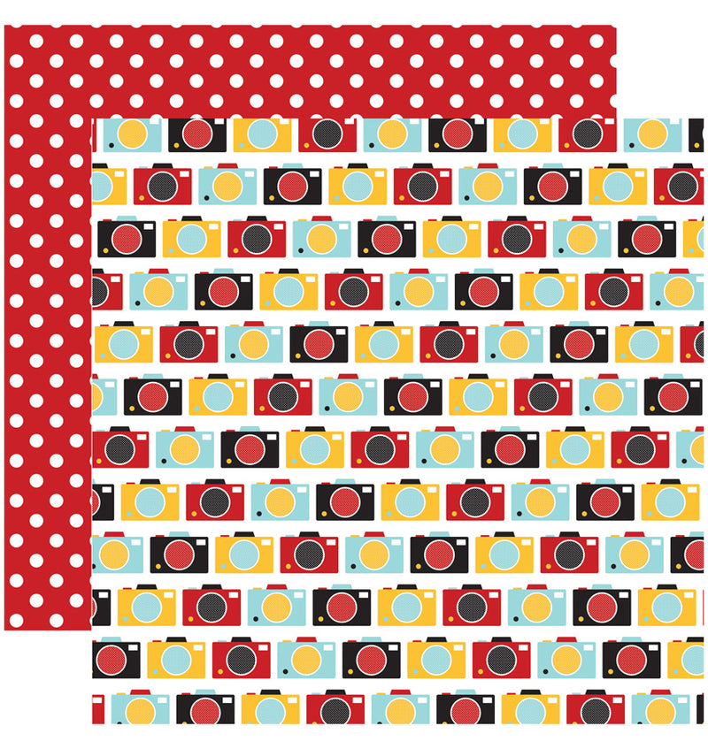 "Echo Park Paper Magical Adventure Collection Kit, 12"" x 12"" Making Memories Double-Sided Cardstock Patterned Paper"