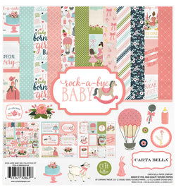 Echo Park Paper Rock-A-Bye Baby Girl Collection Kit Cover