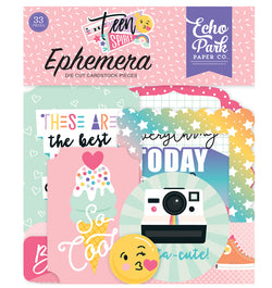 Teen Spirit Girl Ephemera 33pcs