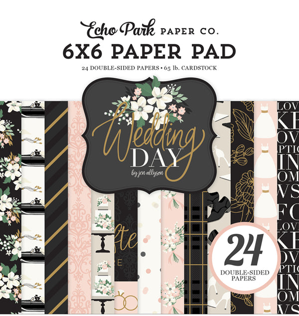 Echo Park Wedding Day 6 x 6 Paper Pad
