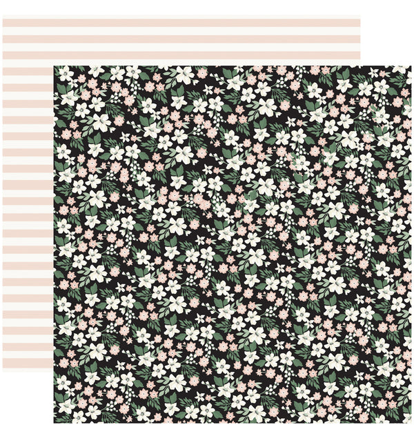 Wedding Day 6 x 6 Paper Pad, Wedding Floral Cardstock Paper Design
