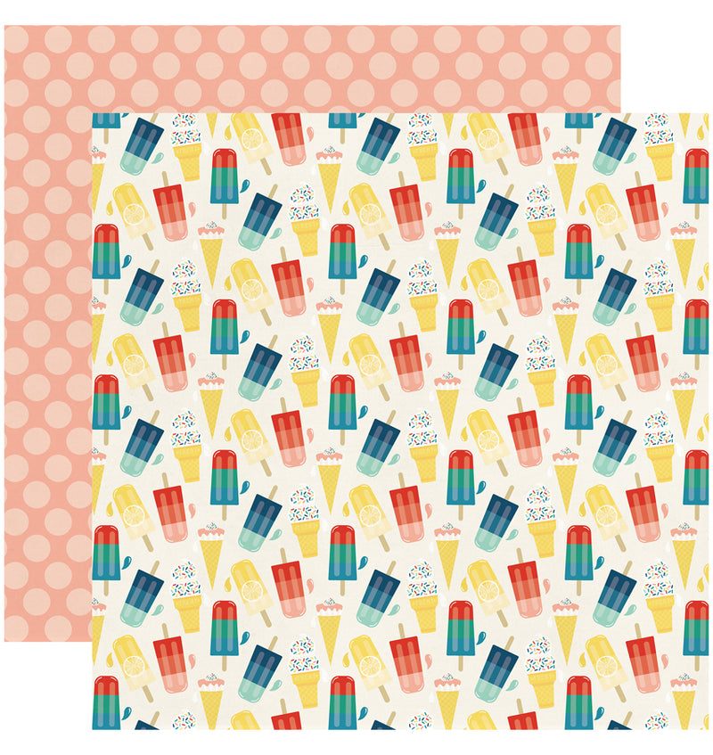 Echo Park Good Day Sunshine 6x6 Paper Pad - Sweet Treat Paper Design