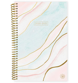 Ethereal Marble 2020-2021 Soft Cover Daily Planner