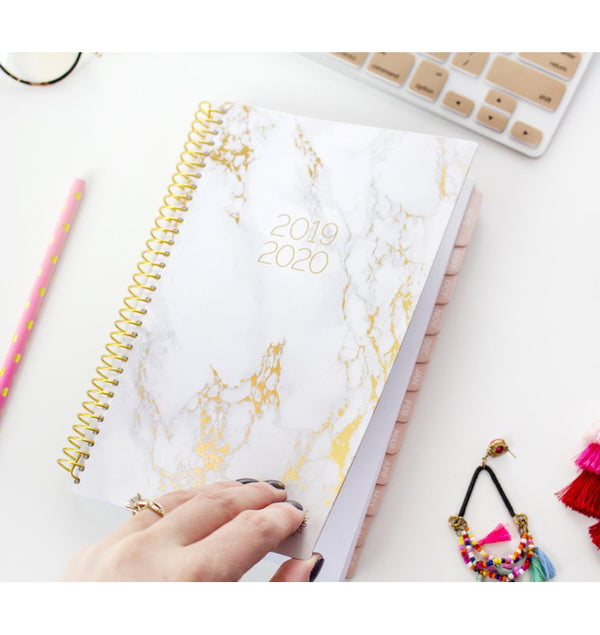 Flipping a Marble 2019-2020 Bloom Soft Cover Daily Planner