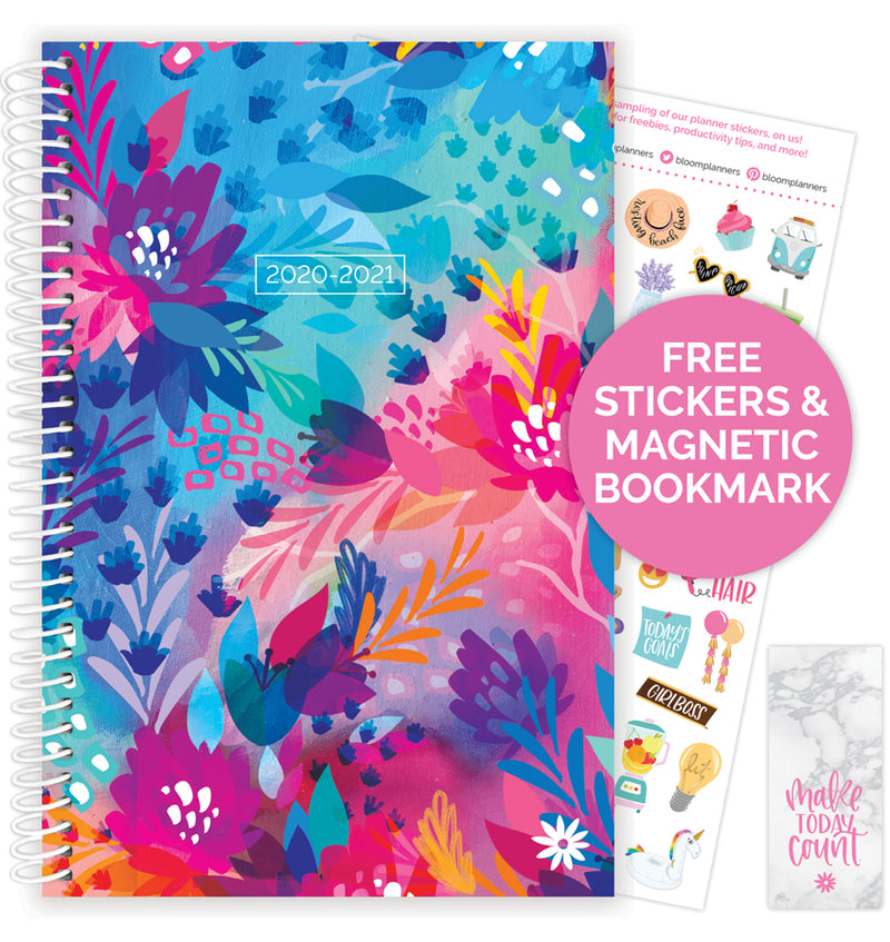 Floral Jungle 2020-2021 Soft Cover Daily Planner