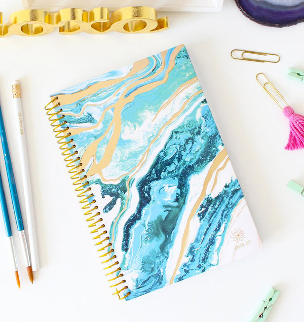 Geode 2019-2020 Bloom Soft Cover Daily Planner Cover