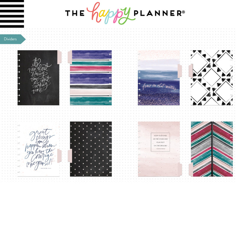 Dreamer Classic Happy Notes™ Journal Go After Your Dream Dividers