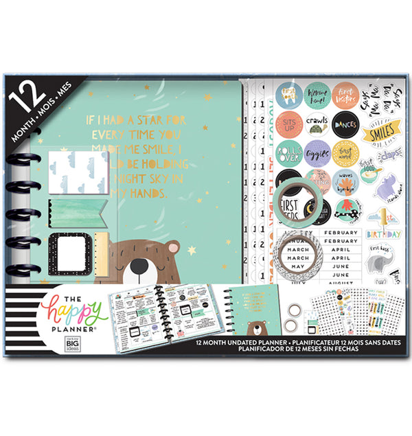 Happy Planner Baby Boy 12 Month Box Kit Undated