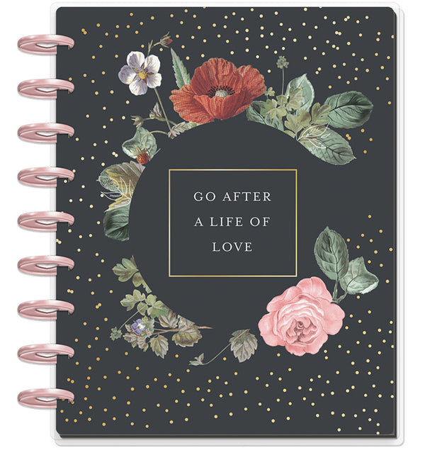 Vintage Botanical 2019-2020 Deluxe Happy Planner (18 Months) Cover