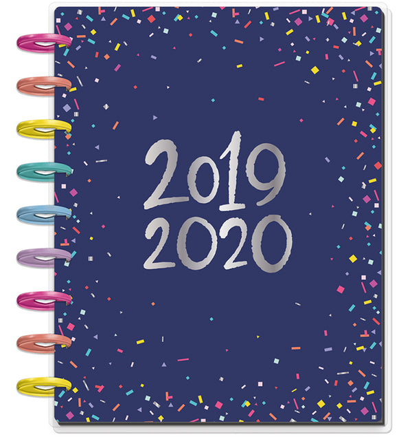 Happy Year 2019 - 2020 Medium Happy Planner Cover