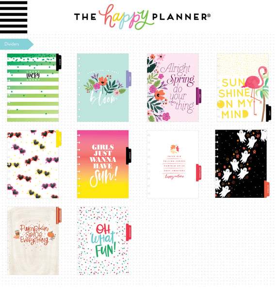 Happy Year 2019 - 2020 Classic Happy Planner (18 Months)