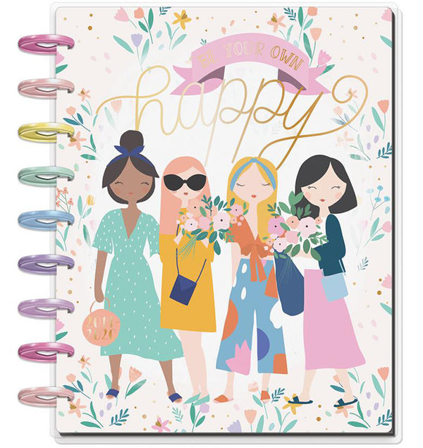Squad Life 2019 - 2020 Medium Happy Planner (18 Months) Cover