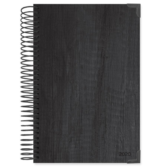 Bloom Black Hard Cover 2020 Daily Planner