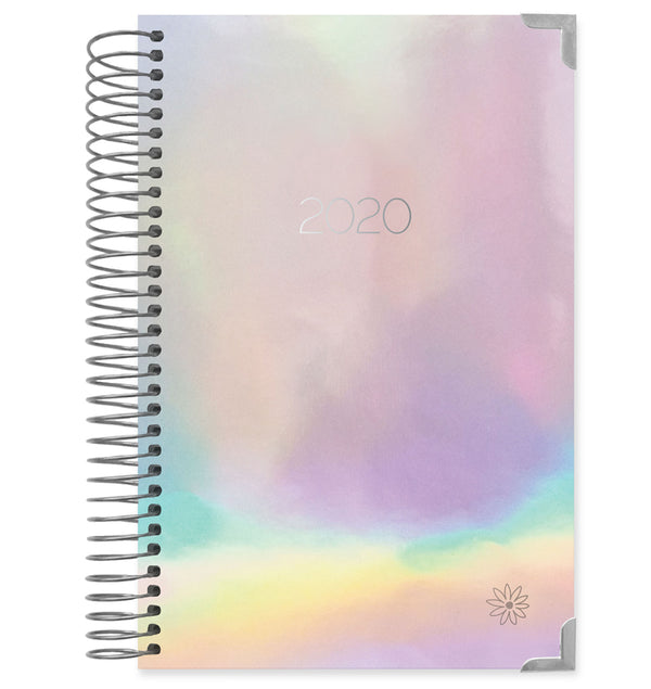 Bloom Iridescent Hard Cover 2020 Daily Planner