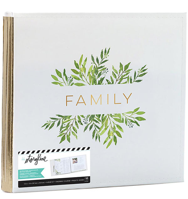 Heidi Swapp 12 x 12 Storyline Family Bound Album Kit