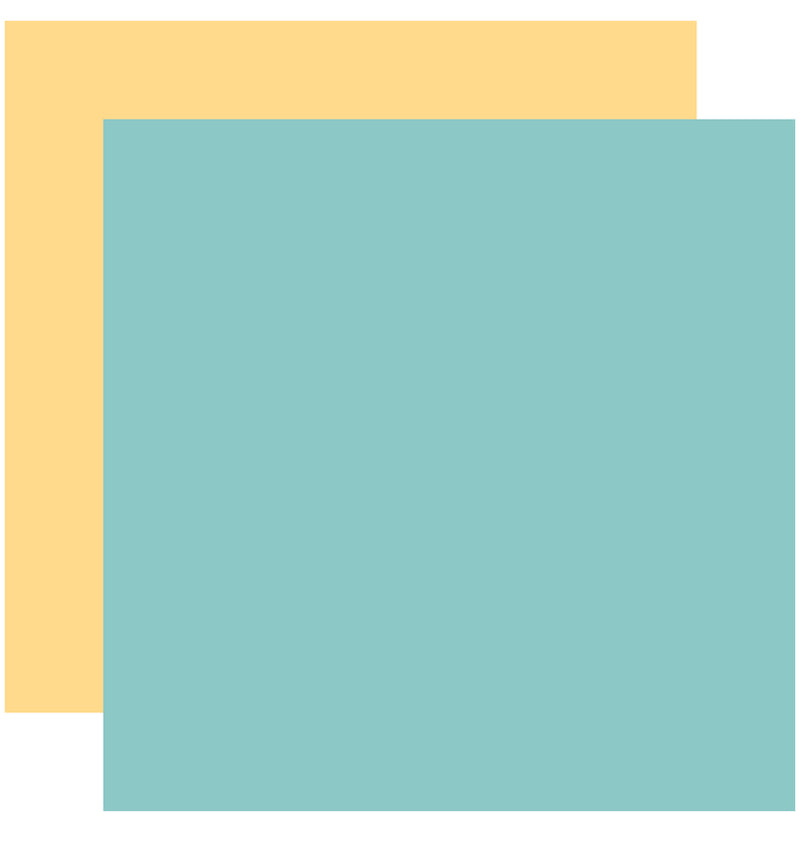 "Echo Park Hello Baby Boy Solid Kit, 12""x12"" Teal Yellow Cardstock Paper"
