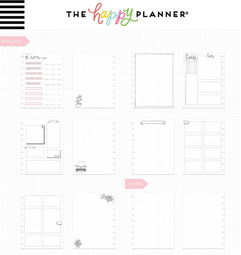 Hello Today Classic Happy Notes™ Journal (Dot Grid)
