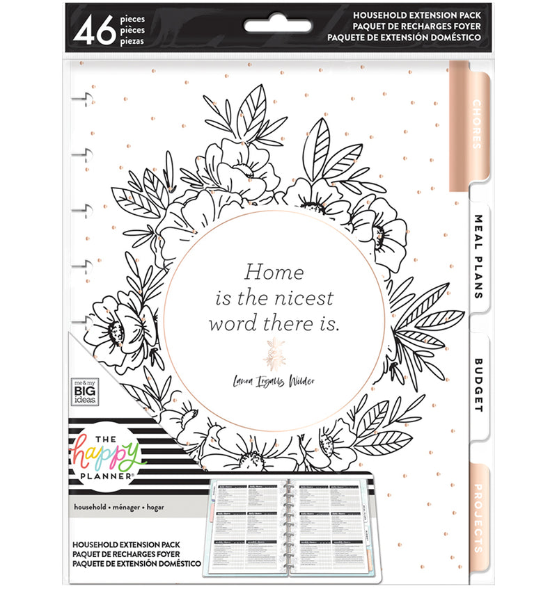 Home Household Expansion Pack (Classic Happy Planner) Cover