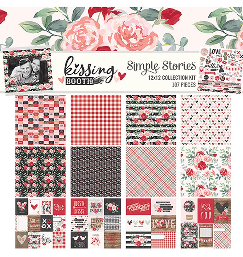 Simple Stories Kissing Booth Collection Kit