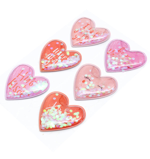 Crate Paper La La Love Heart Shaker Stickers Actual