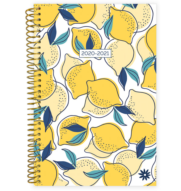 Lemons 2020-2021 Soft Cover Daily Planner