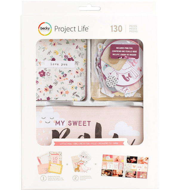 Little You Girls Collection Value Kit with Foil Accents