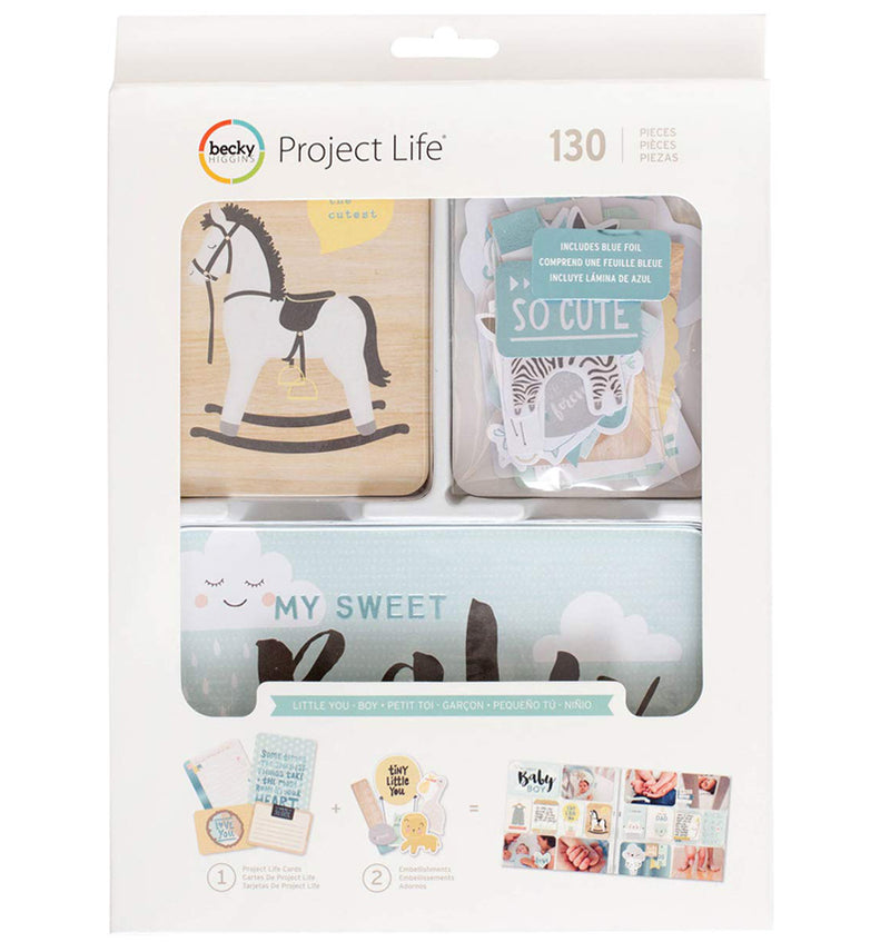 Project Life Little You Boys Collection Value Kit with Foil Accents